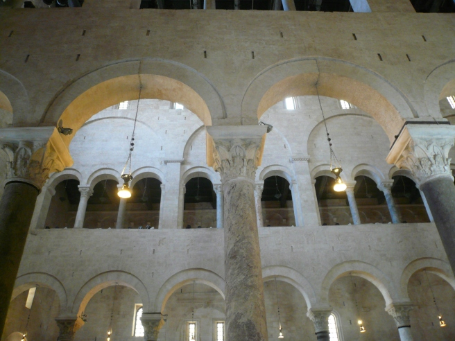 Bari cathedral nave